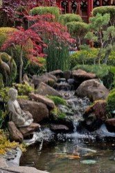 Innovative DIY Backyard Waterfall Ideas To Beautify Your Home Garden 12