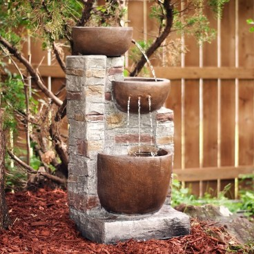 Innovative DIY Backyard Waterfall Ideas To Beautify Your Home Garden 16