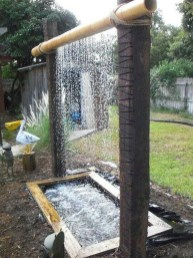Innovative DIY Backyard Waterfall Ideas To Beautify Your Home Garden 36
