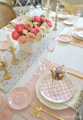 Marvelous Easter Tablescapes That Will Make Your Jaw Drop 22