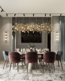 Modern Dining Room Design Ideas That Are Comfortable 01
