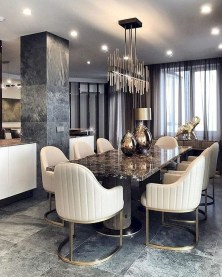 Modern Dining Room Design Ideas That Are Comfortable 04