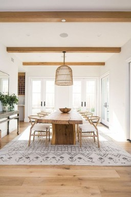 Modern Dining Room Design Ideas That Are Comfortable 28
