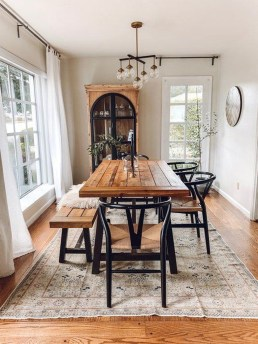 Modern Dining Room Design Ideas That Are Comfortable 40