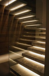 Perfect Home Stair Design With Light That Very Beautiful 01