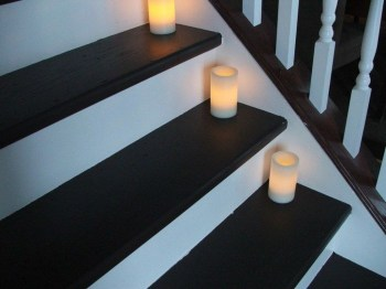 Perfect Home Stair Design With Light That Very Beautiful 05