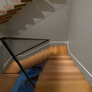 Perfect Home Stair Design With Light That Very Beautiful 11
