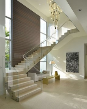 Perfect Home Stair Design With Light That Very Beautiful 14