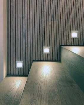 Perfect Home Stair Design With Light That Very Beautiful 16