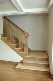 Perfect Home Stair Design With Light That Very Beautiful 40