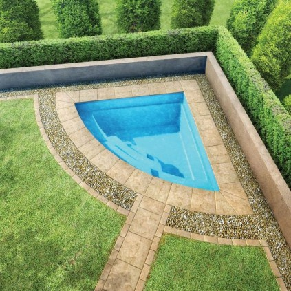 Simple Tiny Swimming Pool Ideas For Stunning Small Backyard 16