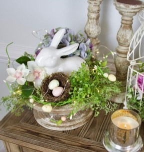 Superb Easter Table Decoration Ideas To Give Your Tablescape A Festive Vibe 22