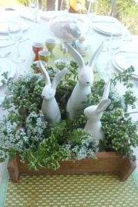 Superb Easter Table Decoration Ideas To Give Your Tablescape A Festive Vibe 38