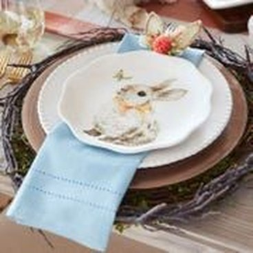 Superb Easter Table Decoration Ideas To Give Your Tablescape A Festive Vibe 44