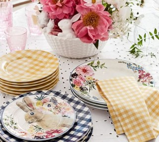 Superb Easter Table Decoration Ideas To Give Your Tablescape A Festive Vibe 53