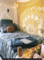 Charming Yellow Bedroom Ideas Are Guaranteed To Brighten Your Little One's Day 04