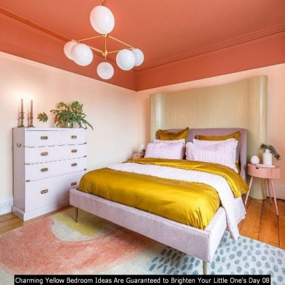 Charming Yellow Bedroom Ideas Are Guaranteed To Brighten Your Little One's Day 08