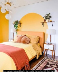 Charming Yellow Bedroom Ideas Are Guaranteed To Brighten Your Little One's Day 13