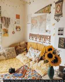 Charming Yellow Bedroom Ideas Are Guaranteed To Brighten Your Little One's Day 38