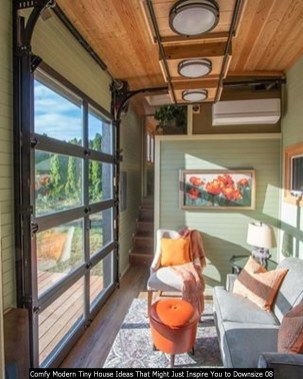 Comfy Modern Tiny House Ideas That Might Just Inspire You To Downsize 08