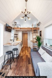 Comfy Modern Tiny House Ideas That Might Just Inspire You To Downsize 23
