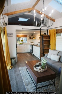 Comfy Modern Tiny House Ideas That Might Just Inspire You To Downsize 27