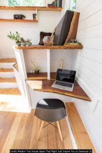 Comfy Modern Tiny House Ideas That Might Just Inspire You To Downsize 31