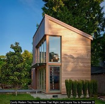 Comfy Modern Tiny House Ideas That Might Just Inspire You To Downsize 35