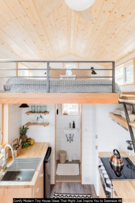 Comfy Modern Tiny House Ideas That Might Just Inspire You To Downsize 48