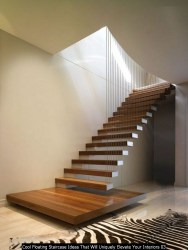 Cool Floating Staircase Ideas That Will Uniquely Elevate Your Interiors 03