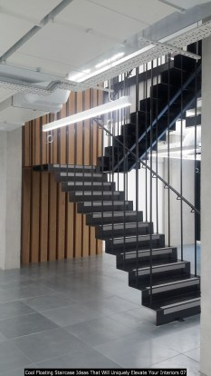 Cool Floating Staircase Ideas That Will Uniquely Elevate Your Interiors 07