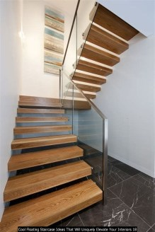 Cool Floating Staircase Ideas That Will Uniquely Elevate Your Interiors 18