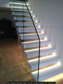 Cool Floating Staircase Ideas That Will Uniquely Elevate Your Interiors 25