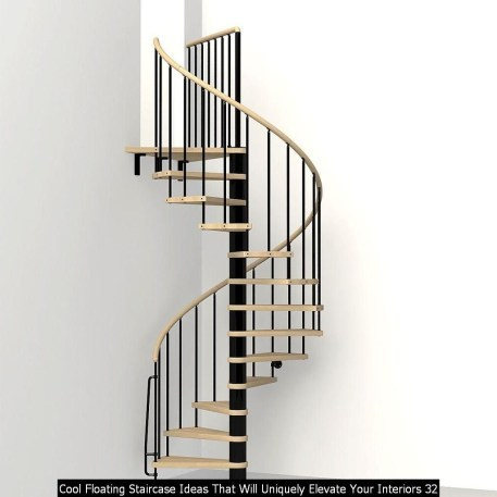 Cool Floating Staircase Ideas That Will Uniquely Elevate Your Interiors 32