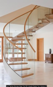 Cool Floating Staircase Ideas That Will Uniquely Elevate Your Interiors 37