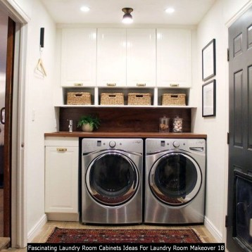Fascinating Laundry Room Cabinets Ideas For Laundry Room Makeover 18