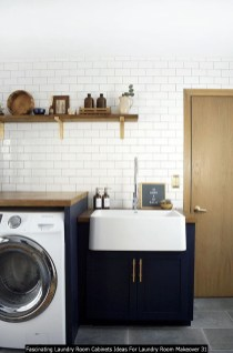 Fascinating Laundry Room Cabinets Ideas For Laundry Room Makeover 31