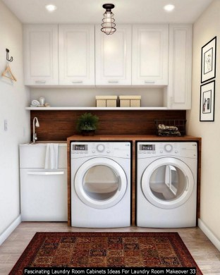 Fascinating Laundry Room Cabinets Ideas For Laundry Room Makeover 33