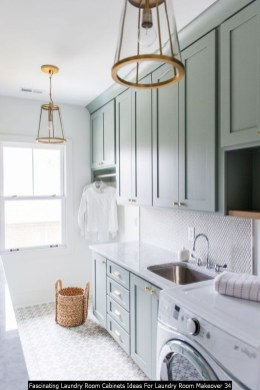 Fascinating Laundry Room Cabinets Ideas For Laundry Room Makeover 34