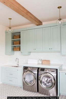 Fascinating Laundry Room Cabinets Ideas For Laundry Room Makeover 35