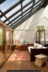 Gorgeous Glass Ceiling House Design Ideas To Get Natural Light 03