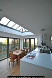 Gorgeous Glass Ceiling House Design Ideas To Get Natural Light 30