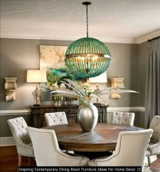 Inspiring Contemporary Dining Room Furniture Ideas For Home Decor 12