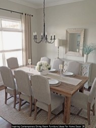 Inspiring Contemporary Dining Room Furniture Ideas For Home Decor 38