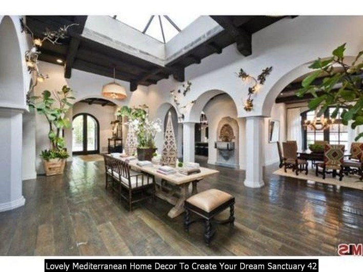 Lovely Mediterranean Home Decor To Create Your Dream Sanctuary 42