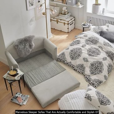 Marvelous Sleeper Sofas That Are Actually Comfortable And Stylish 07