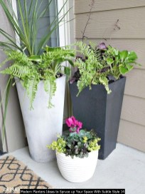 Modern Planters Ideas To Spruce Up Your Space With Subtle Style 14
