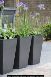 Modern Planters Ideas To Spruce Up Your Space With Subtle Style 24