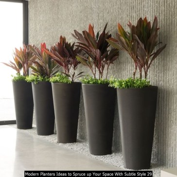Modern Planters Ideas To Spruce Up Your Space With Subtle Style 29