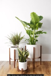 Modern Planters Ideas To Spruce Up Your Space With Subtle Style 33